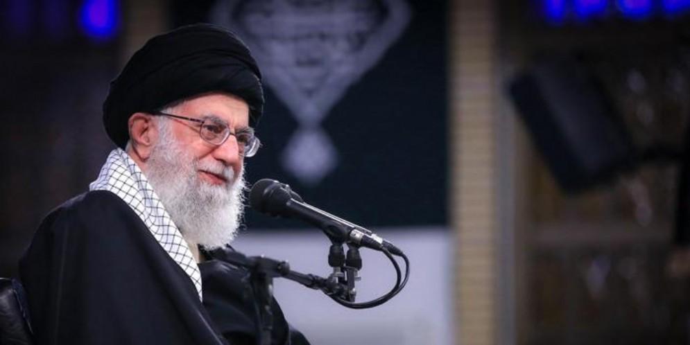 La guida suprema della Rivoluzione islamica, ayatollah Ali Khamenei
