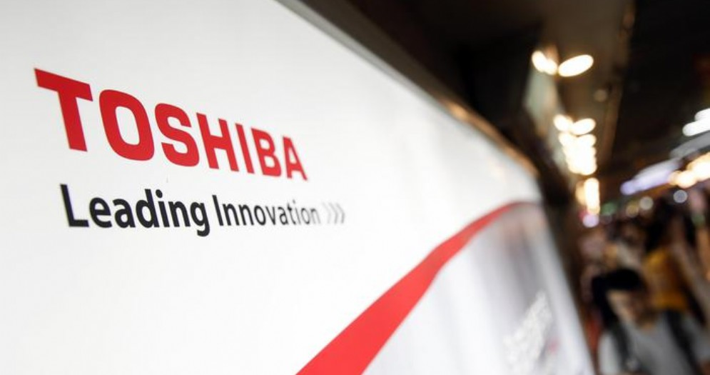 Il logo Toshiba