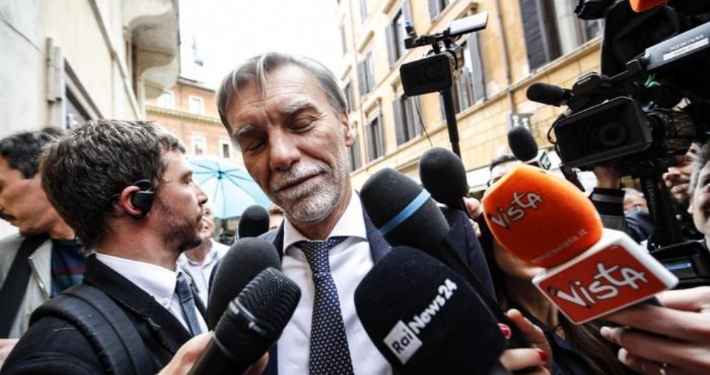 Graziano Delrio, capogruppo del PD alla Camera