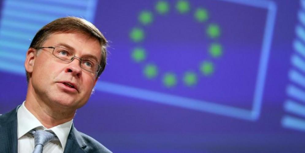 Il vicepresidente della Commissione europea, Valdis Dombrovskis