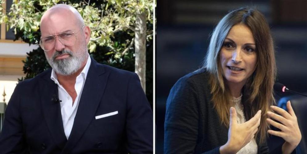 Stefano Bonaccini e Lucia Borgonzoni