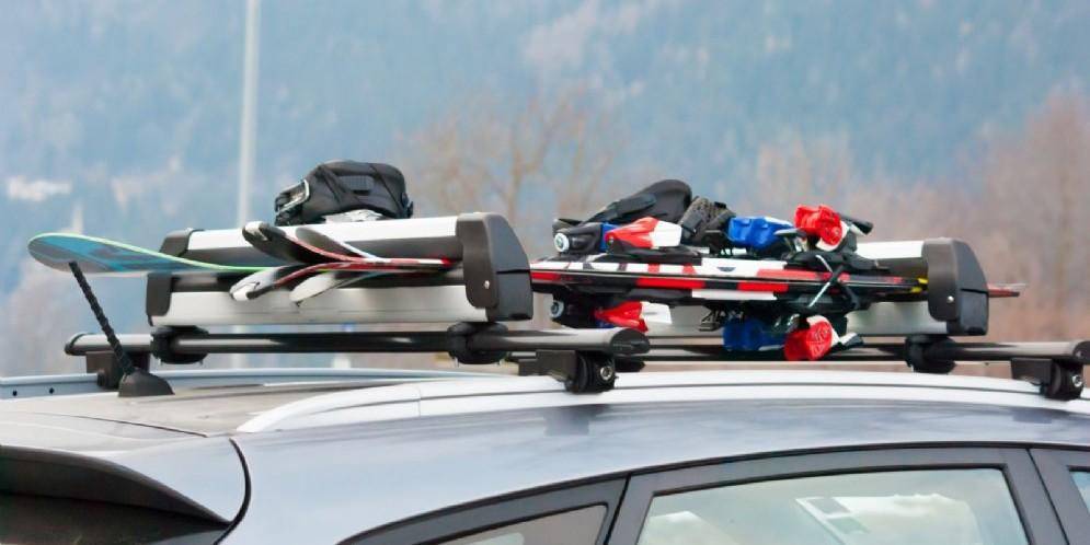 Porta sci per auto