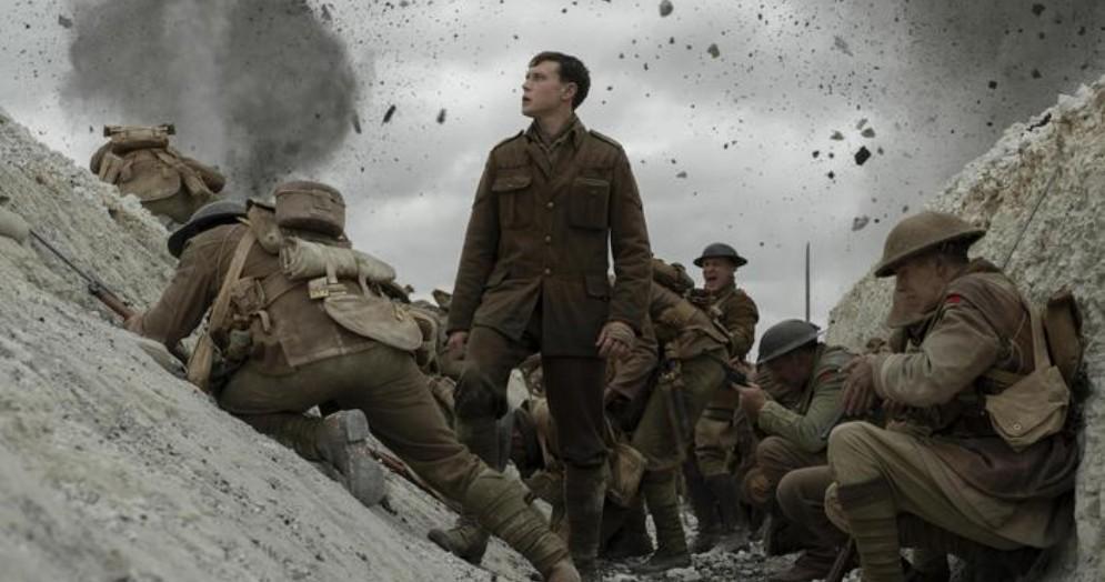 Una scena del film «1917», candidato ai premi Oscar