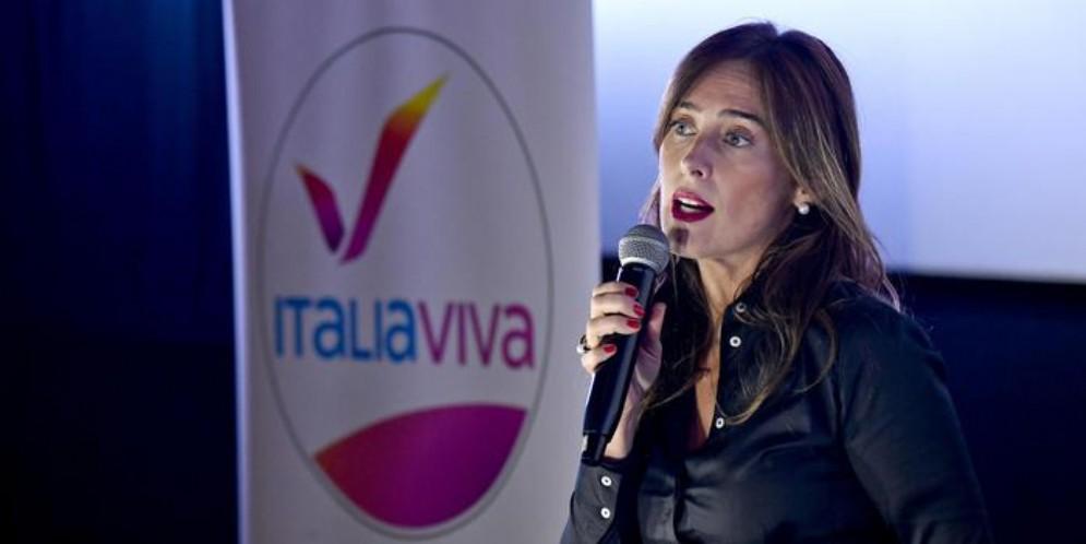 Maria Elena Boschi, leader di Italia Viva