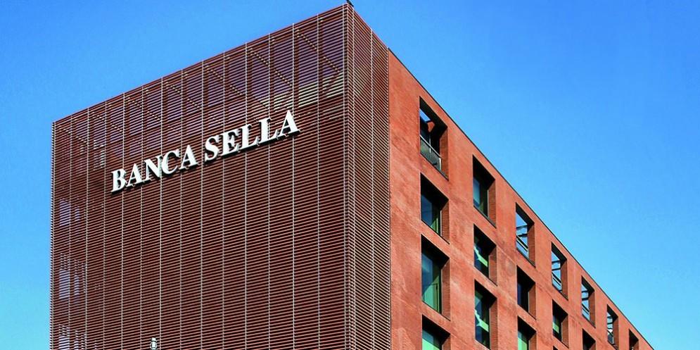 La sede di Banca Sella a Biella
