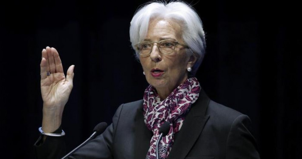 Il Presidente della BCE, Christine Lagarde