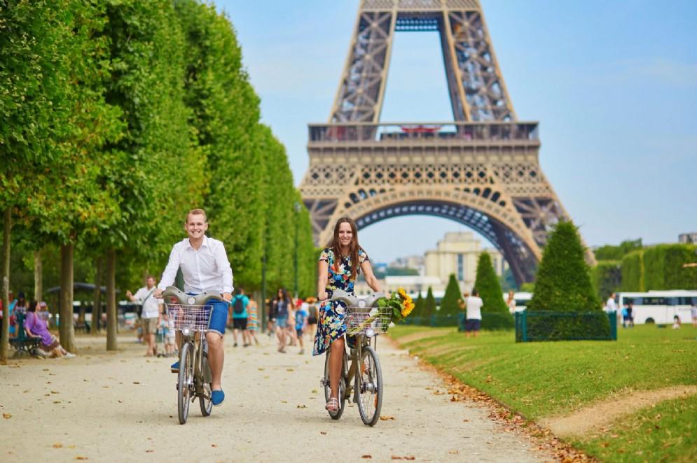 Pedalare alla scoperta di Parigi