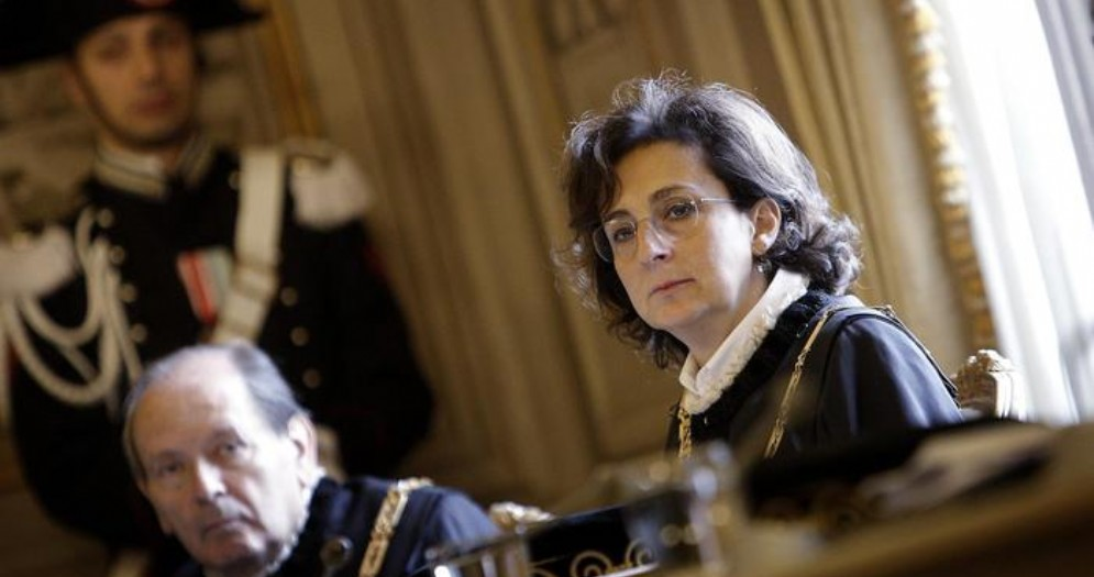 Marta Cartabia, Presidente della Corte Costituzionale