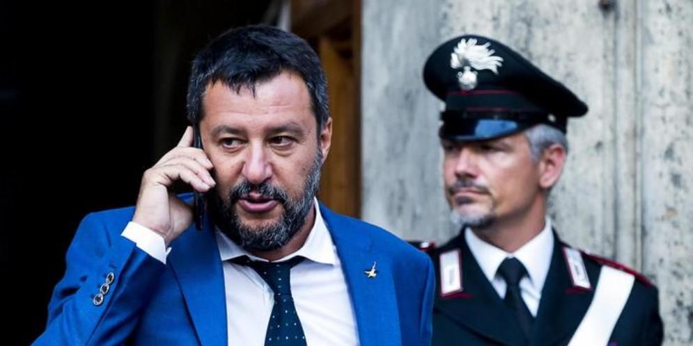 L'ex Ministro dell'Interno e leader della Lega, Matteo Salvini