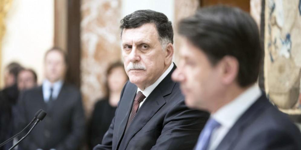 Il Premier del governo di accordo nazionale di Tripoli, Fayez al Sarraj