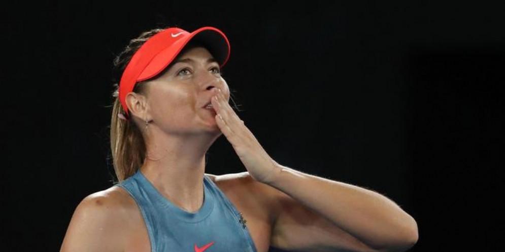 La tennista russa Maria Sharapova