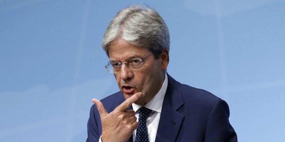 Paolo Gentiloni, Commissario europeo all'Economia