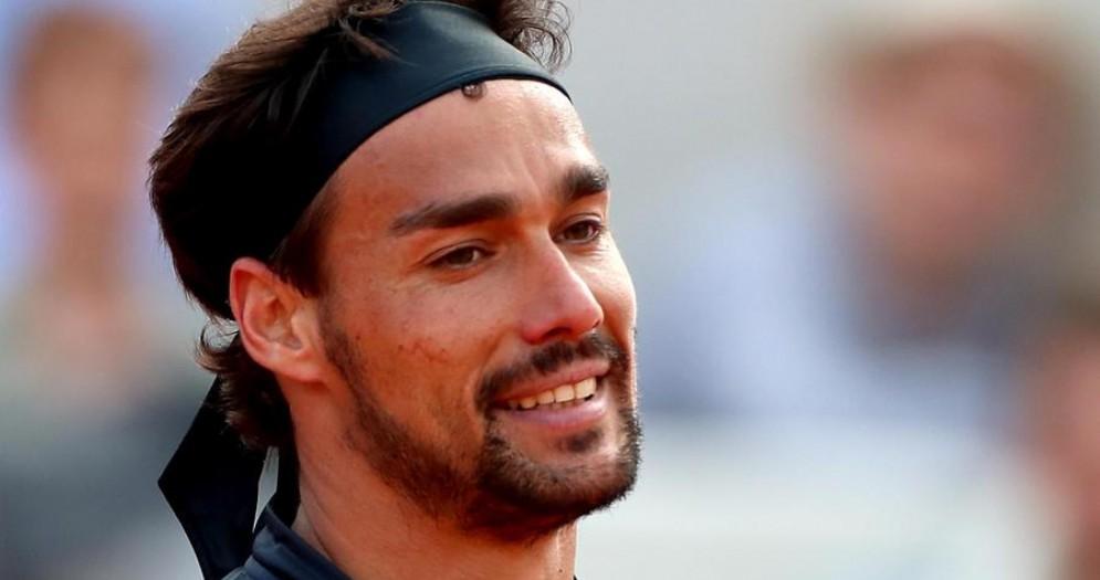 Il tennista azzurro Fabio Fognini