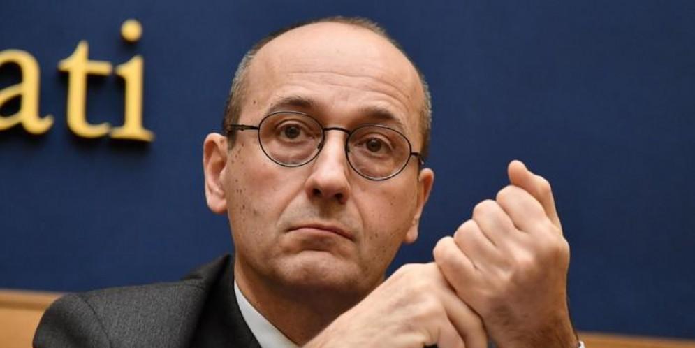 Alberto Bagnai, senatore della Lega e presidente della commissione Finanze e Tesoro del Senato
