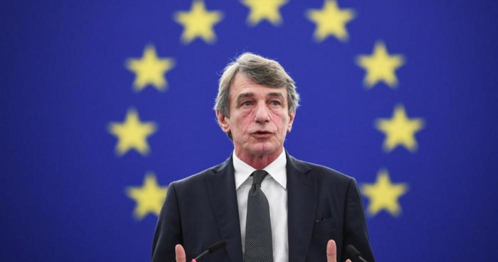 David Sassoli, Presidente dell'Europarlamento