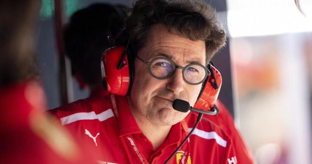 Mattia Binotto, team principal della Ferrari