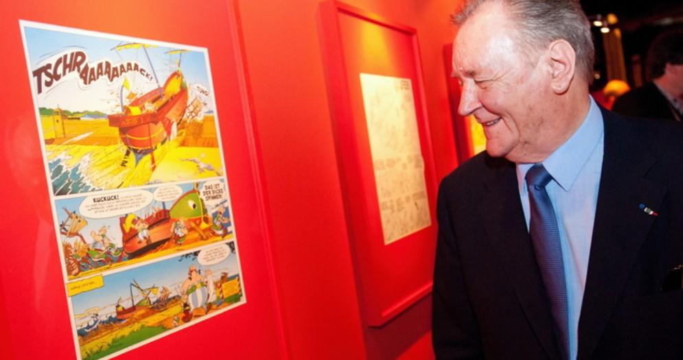 Addio ad Albert Uderzo, il padre di Asterix