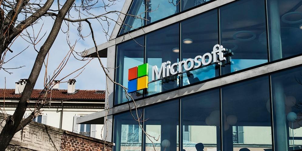 Il logo di Microsoft