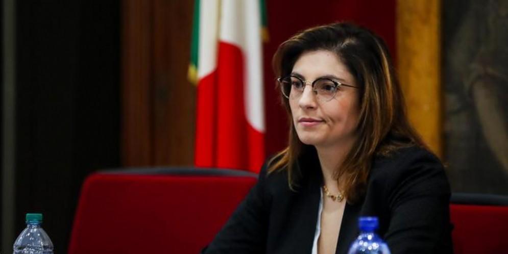 Il Vice Ministro dell'Economia e delle Finanze, Laura Castelli