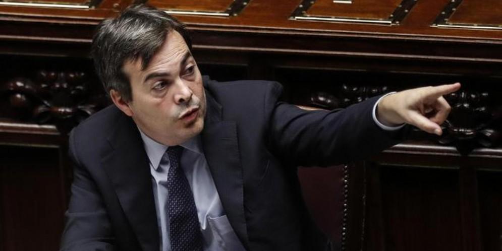 Il Ministro per gli Affari europei, Enzo Amendola (PD)
