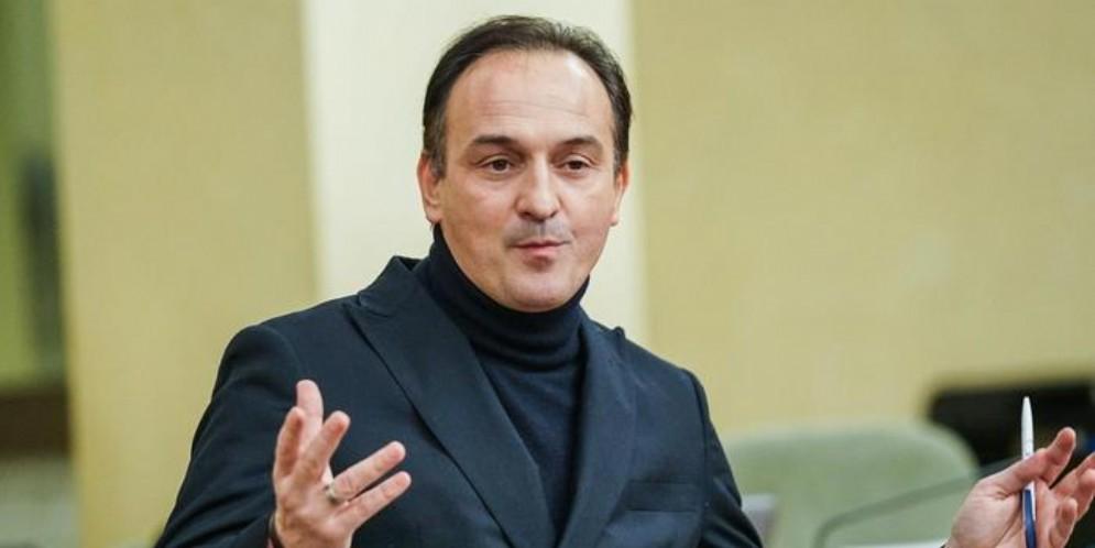 Il Presidente della Regione Piemonte, Alberto Cirio