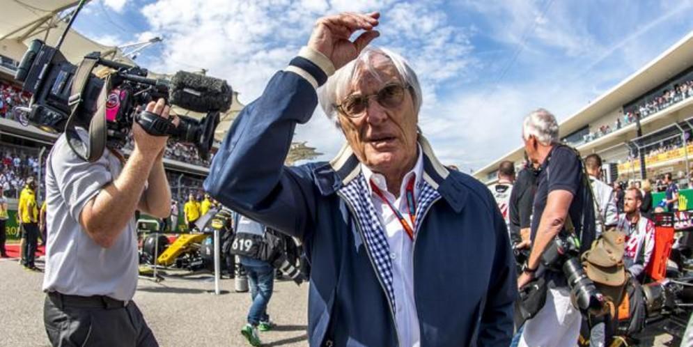 L'ex patron della Formula 1, Bernie Ecclestone