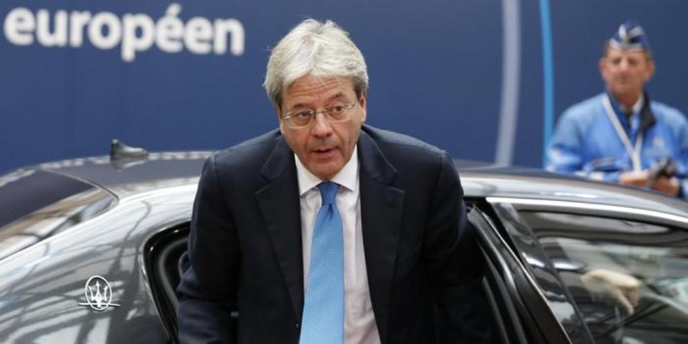 Il commissario europeo agli Affari economici e finanziari, Paolo Gentiloni