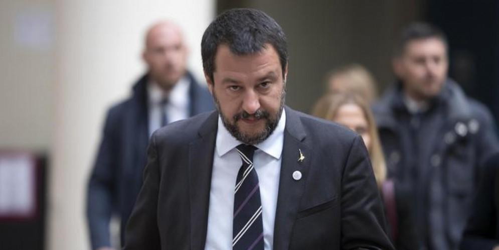 Il Segretario della Lega, Matteo Salvini
