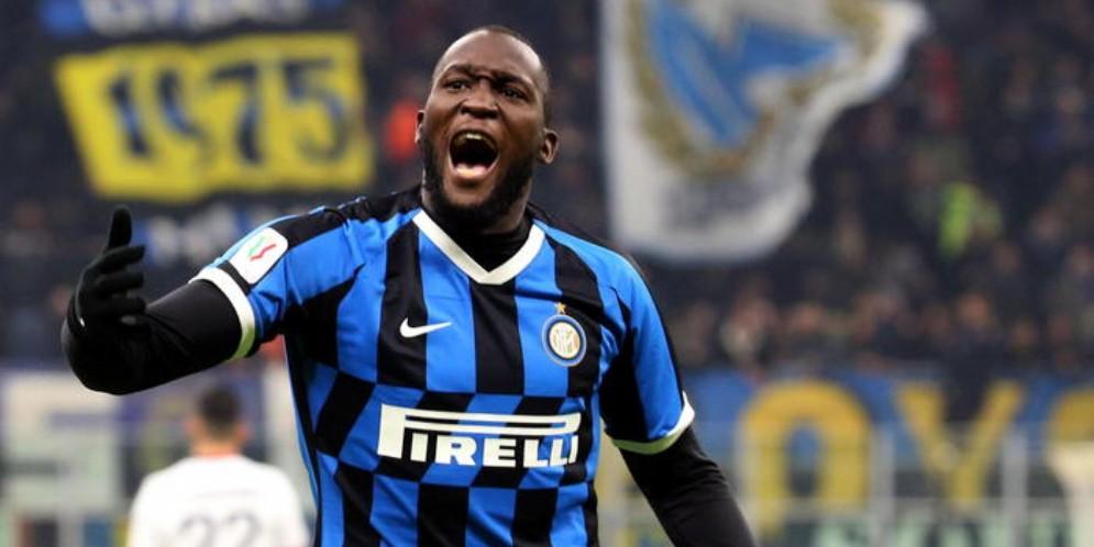 L'attaccante dell'Inter, Romelu Lukaku