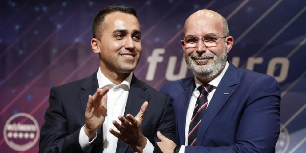 Luigi Di Maio e Vito Crimi