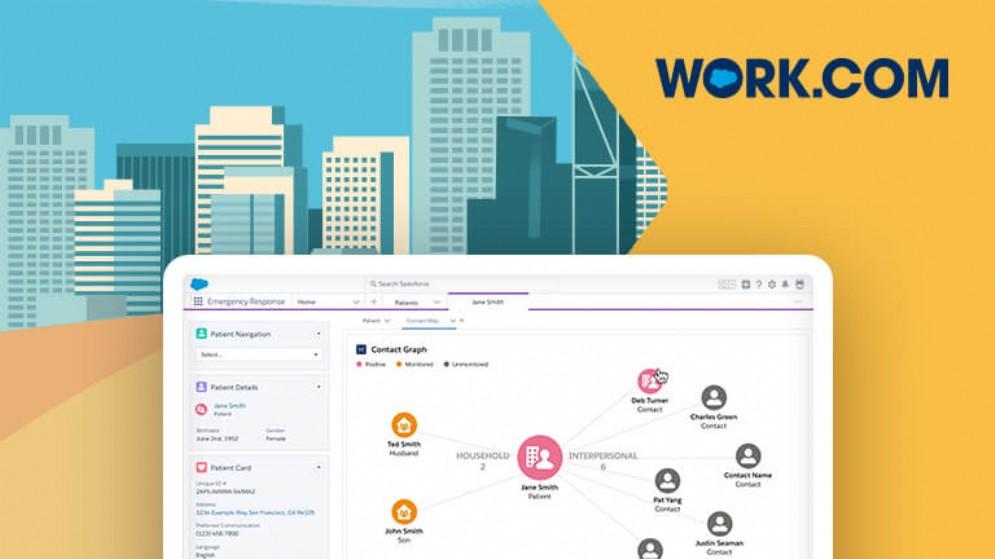 Salesforce presenta Work.com: un nuovo ecosistema di soluzioni e app per aiutare le aziende a riaprire in sicurezza