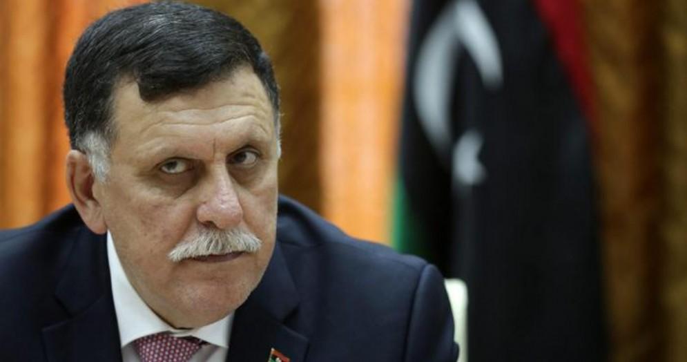 Il Premier libico Fayez al Sarraj