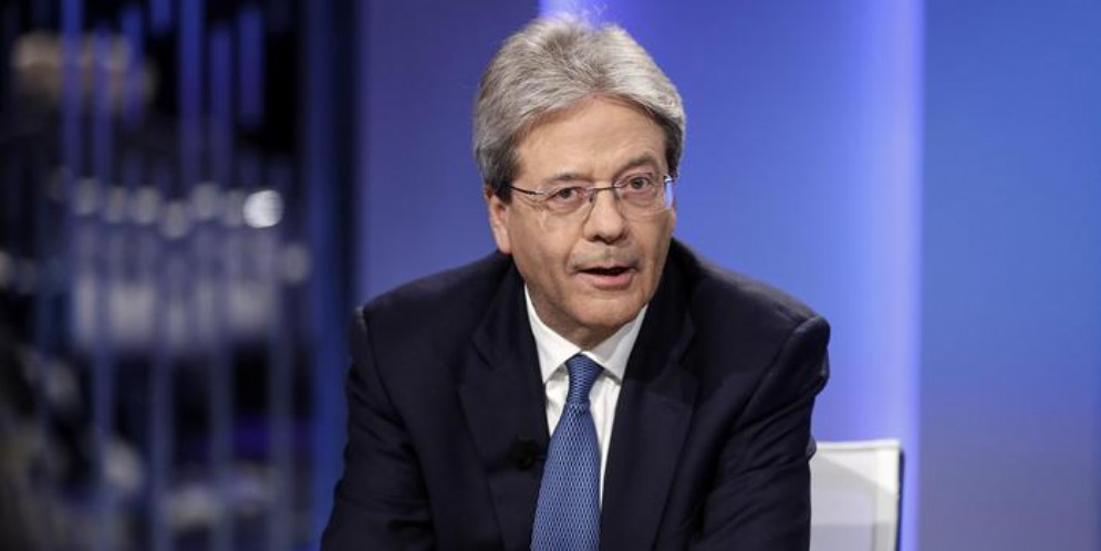 Il commissario europeo all'economia, Paolo Gentiloni