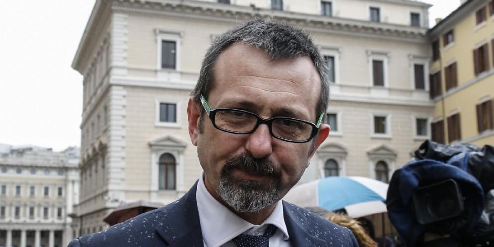 Il Deputato di Fratelli d'Italia e avvocato Andrea Delmastro