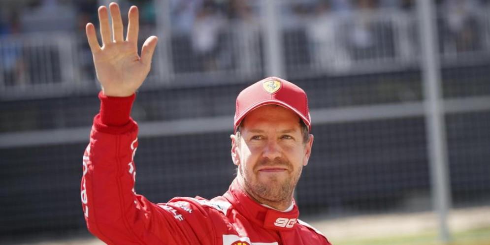 Sebastian Vettel, 32 anni