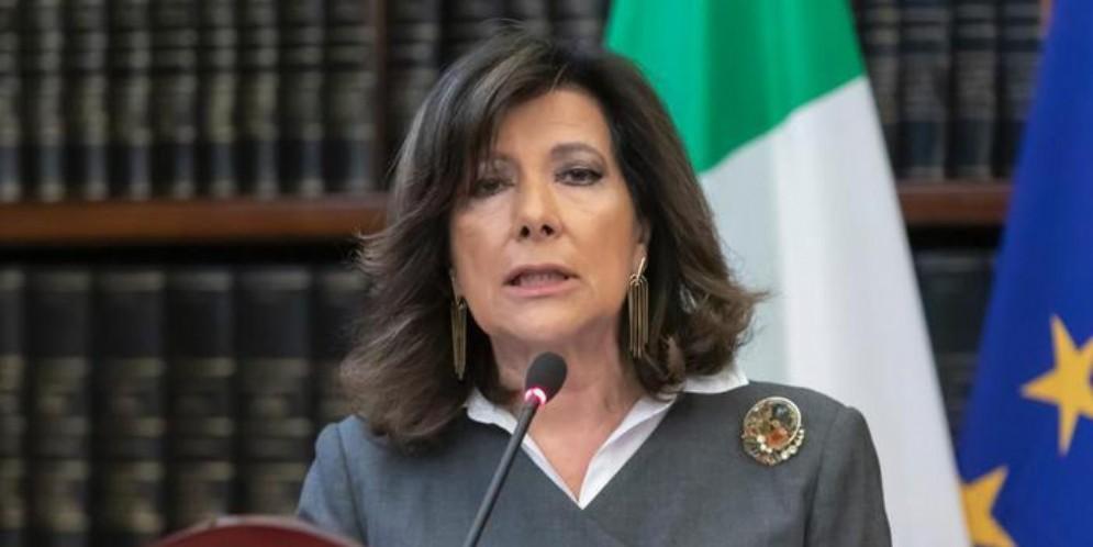 Il Presidente del Senato, Maria Elisabetta Casellati