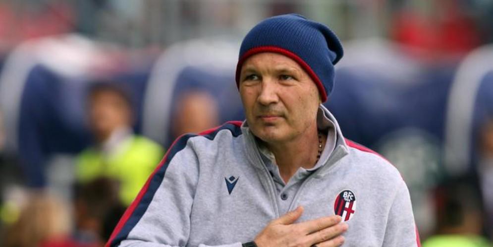 L'allenatore del Bologna, Sinisa Mihajlovic