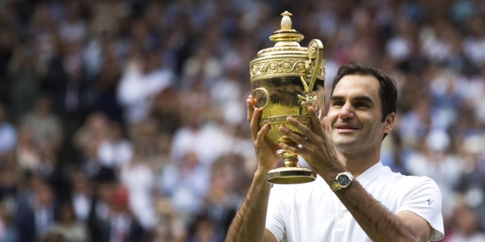 Il campione di tennis svizzero, Roger Federer
