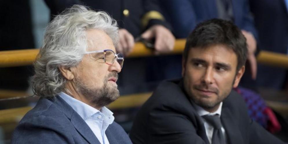 Beppe Grillo e Alessandro Di Battista