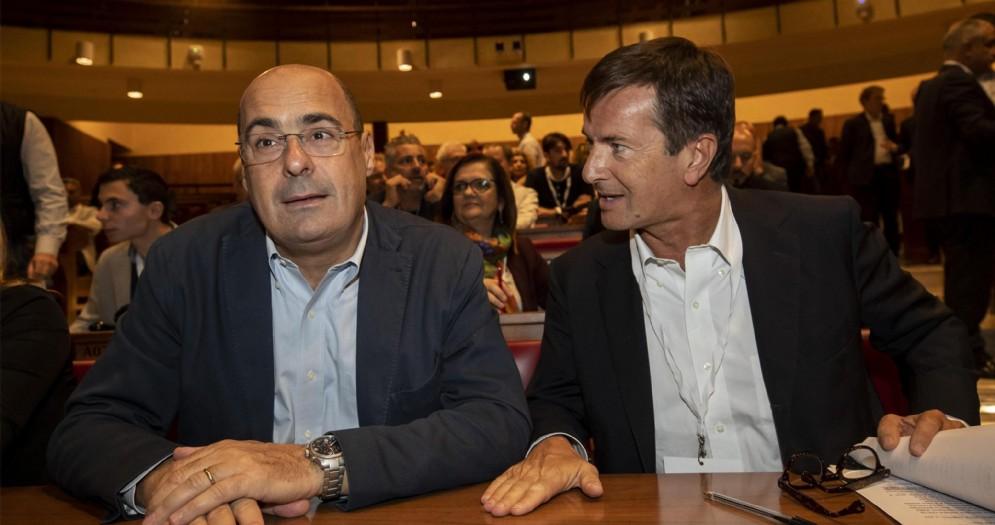Nicola Zingaretti e Giorgio Gori
