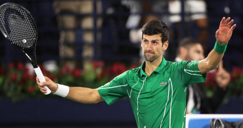 Novak Djokovic positivo al coronavirus