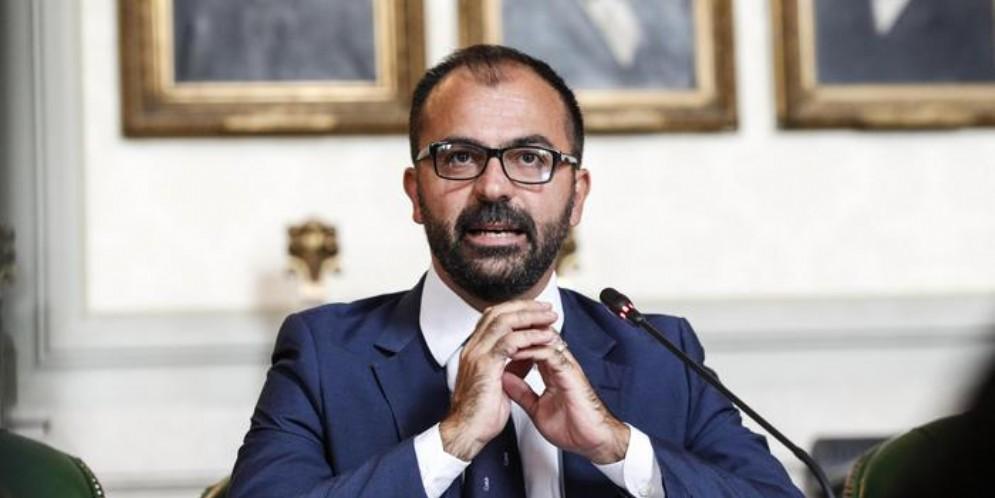 L'ex Ministro dell'Istruzione, Lorenzo Fioramonti