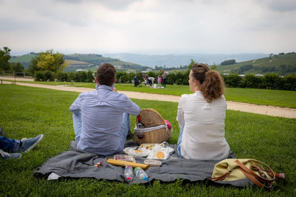 Ca' del Moro picnic
