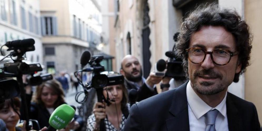 Danilo Toninelli, Senatore del MoVimento 5 Stelle