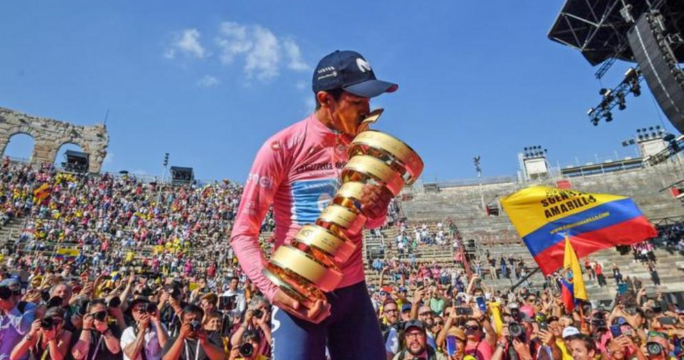 Carapaz trionfa a Verona, è suo il Giro d'Italia 2019