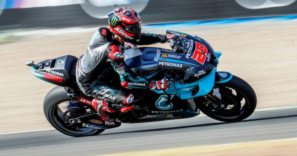 Fabio Quartararo su Yamaha Petronas