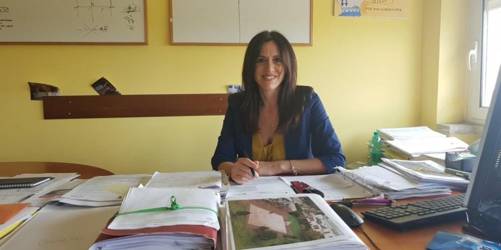 Monica Lozzi, presidente del VII Municipio di Roma