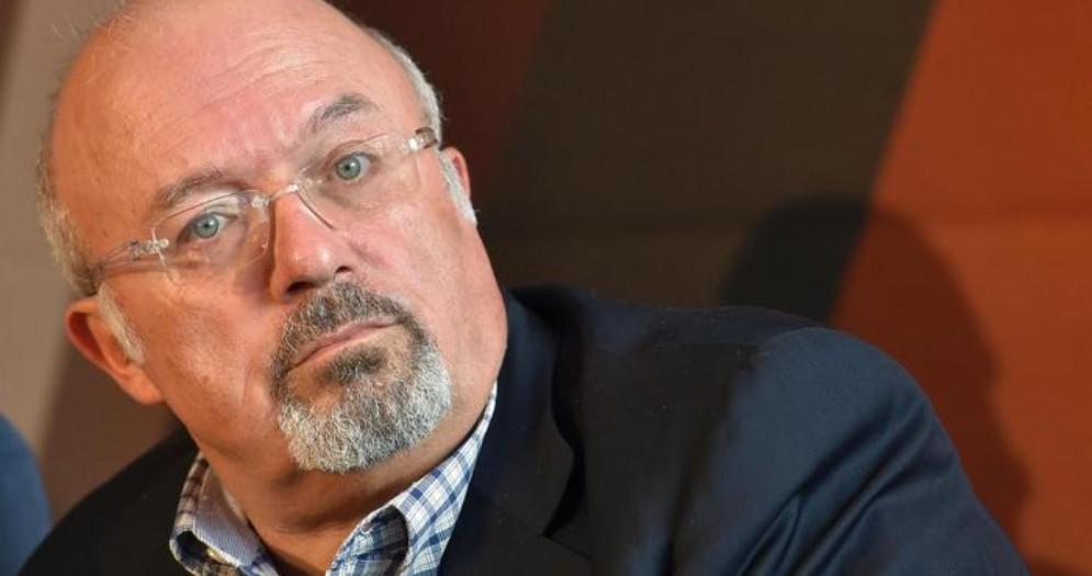 Francesco Storace, ex ministro e presidente del Lazio, oggi vicedirettore del Tempo