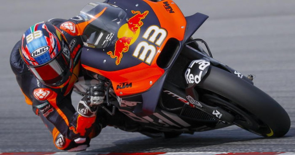 Brad Binder vincitore del GP della Repubblica Ceca