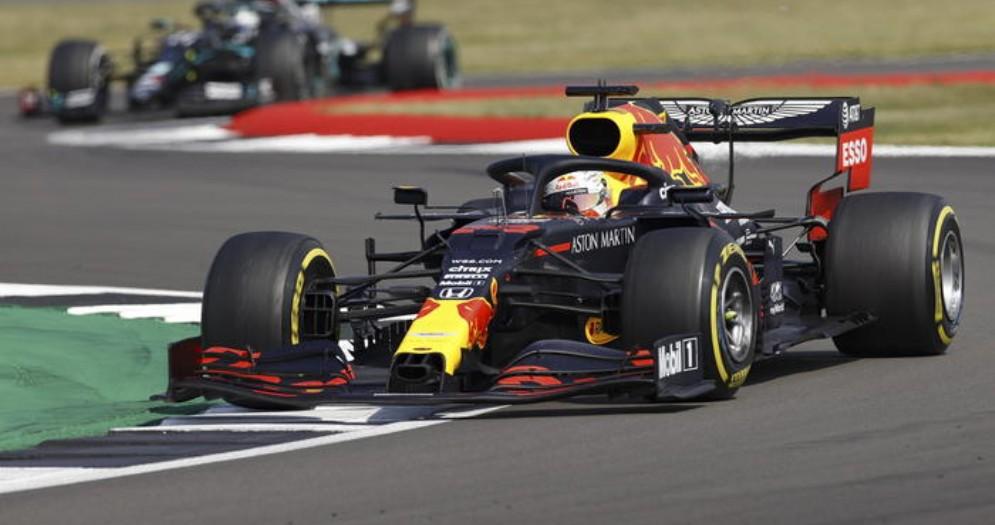 Max Verstappen vincitore dell'ultimo GP a Silverstone